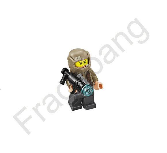 LEGO 75131 Star Wars Resistance Trooper Minifigure (from set 75131)