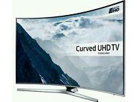 Samsung 49 Inch Curved Smart UHD LED UE49KU6670