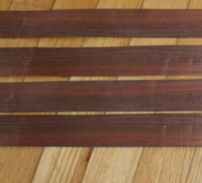 4 Pieces Brazilian Rosewood Raw Wood Veneer 24 12 X 1 38 Each 142