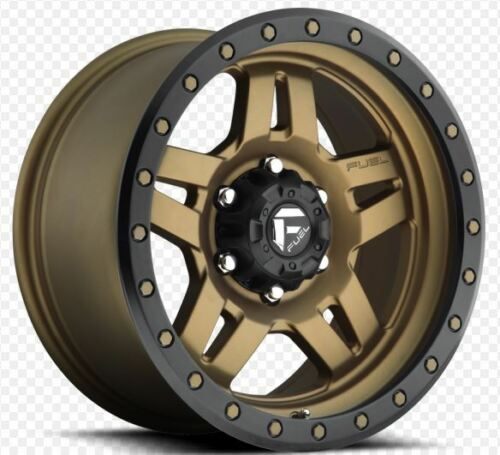 Fuel Anza 18x9 6x5.5 ET1 Bronze Rims (Set of 4)