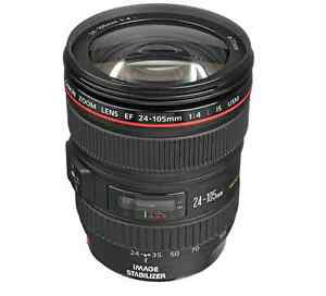 24-105mm f4 canon lens in excellent condition St. John's Newfoundland image 1