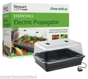 Stewarts Essentials Electric Propagator - 52cm Heated Plant Seed Propagator