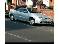 RENAULT MEGANE CONVERTIBLE, very reliable car