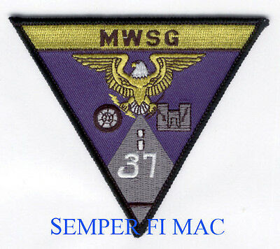 MWSG-37 US MARINE WING SUPPORT GROUP PATCH MCAS 3D MAW PIN UP MCAS EL TORO GIFT