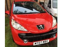 Peugeot 207 sport and Fiat stilo low miles