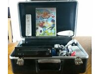 Nintendo Wii In Carry case