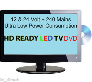 19-HD-Digital-Ultra-slim-LED-TV-DVD-12-VOLT-24-V-Caravan-Boat-Marine-HGV
