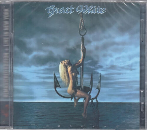 Great White - Hooked Remastered /Live In NY   2-Cd  Set     NEW   Original Cover