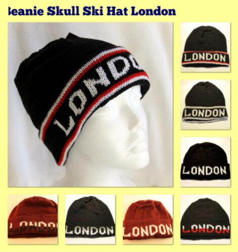 Girl-Boy-Beanie-Hats-Double-Layer-Winter-Ski-Knit-Warm-Turn-Up-Hat-Cap-Men-Women