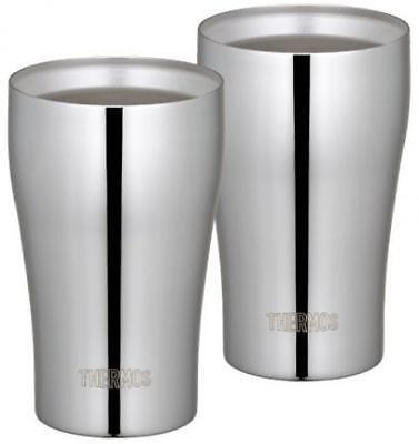 THERMOS JCY-320GP1 vacuum insulation tumbler set 320ml stainless mirror