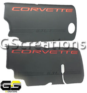 LS1 LS6 GM Corvette Engine Injection Covers 1999-2004 Fuel Rail Left Right