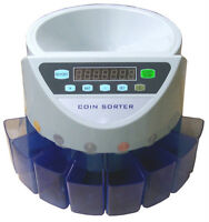 New Electronic Coin Sorter Counter counting all Canadian coins