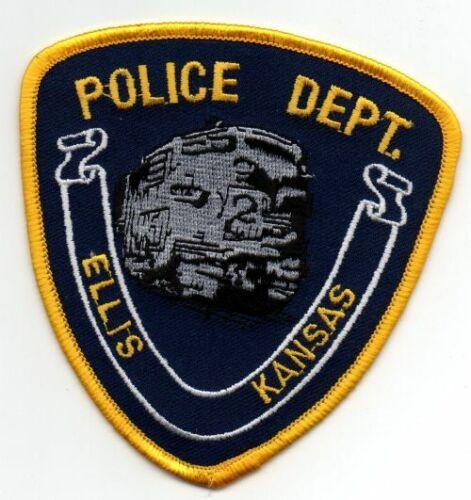 KANSAS KS ELLIS POLICE NICE PATCH SHERIFF