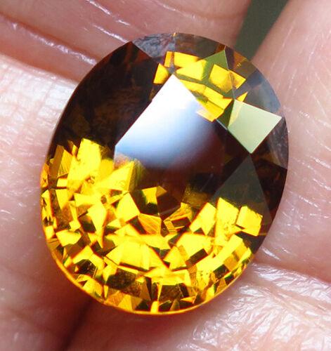 7.00ct. Golden Yellow Grossular Mali Garnet VVS