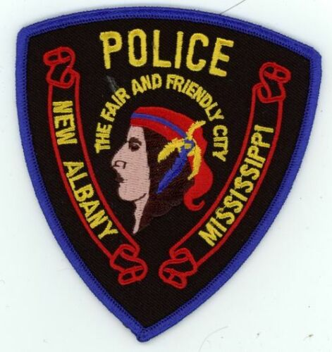 NEW ALBANY POLICE MISSISSIPPI MS NEW PATCH SHERIFF