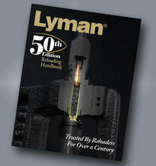 Lyman 50th Ed Reloading Handbook Softcover - Free 3-Day Shipping