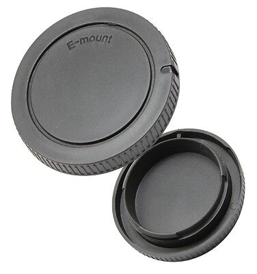 Objektivdeckel Rückdeckel Gehäusedeckel passend für Sony NEX 3 5 7 alpha E-mount Sony Gehäuse
