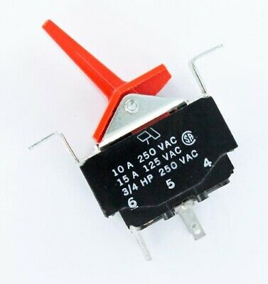 Toggle Switch 10a 250vac Dpst Original Cutler Hammer 8604-x 1 Piece