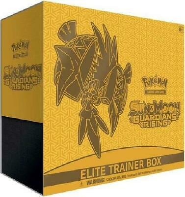 Sun & Moon Guardians Rising Elite Trainer Box (Pokemon) New Pokemon