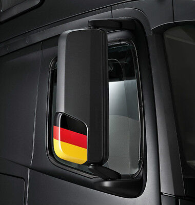 Original Mercedes Benz Außenspiegelblende Deutschland Kappe 1 Satz Actros Neu