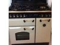 Classic 90 Range master cooker cream and brass colour