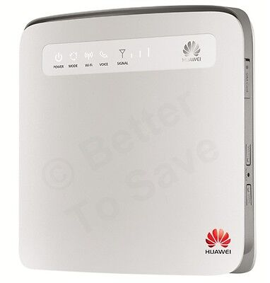 Routeurs HUAWEI E5186 4G+ LTE 300Mbps Cat6 Wireless Access Point Sim 3G WiFi