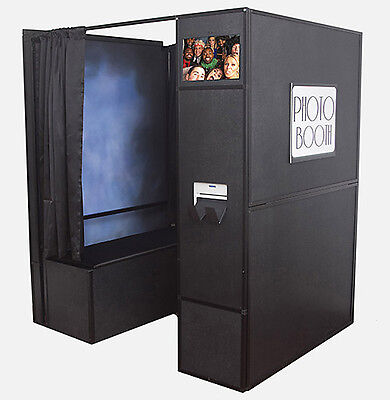 Inventive 4 in 1 Portable Photo Booth w/ Studio Backdrop