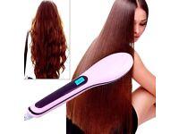2017 New Professional Brush Hair Straightening Comb