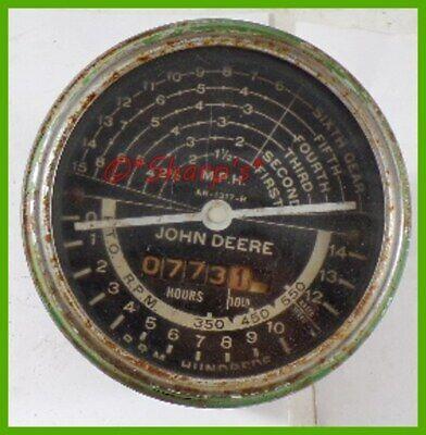Ar1317r John Deere 80 820 830 Tachometer Original Works Made In America