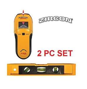 NEW ZIRCON STUDSENSOR HD55 38MM STUD FINDER PLUS BONUS LEVEL - CONSTRUCTION - MARKING - HAND TOOL 104002198