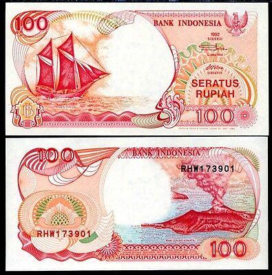 2007 Island and Boat Scene//p141h UNC Indonesia 1000 Rupiah
