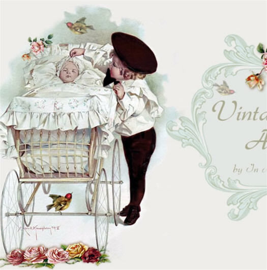 Shabby Vtg Chic Birds Baby Reborn Mobile Friendly Ebay Listing - Mobile friendly ebay template