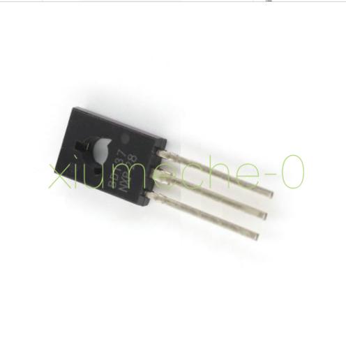 50PCS BD137 TRANSISTOR NPN 1.5A 60V TO126 NEW