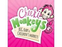 Cheeki monkeys Stourbridge nearly new sale