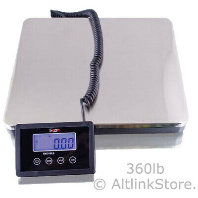 Saga 360 Lb X 0.1 S Digital Postal Scale For Shipping Weight Postage Wac 160 Kg