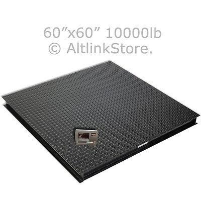 Floor Scalepallet Scaleplatform Scale Postal 10000 Lb1lb 5x5 60 Wind Saga