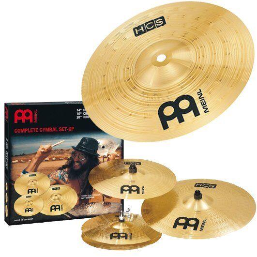 Meinl HCS141620 Hcs Cymbal Set +10 Splash