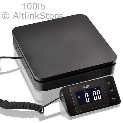 Saga 100 Lb X 0.1 Oz Digital Postal Scale For Shipping Weight Postage Wac 45 Kg