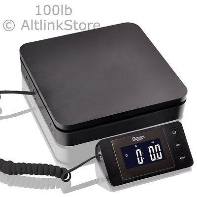 SAGA 100 lb X 0.1 oz Digital Postal Scale For Shipping Weight Postage W/AC 45 kg