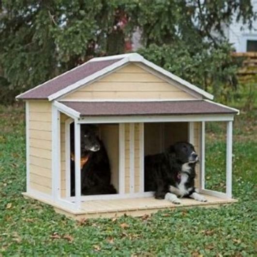 Boomer & George Medium Duplex Dog House ...