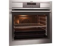 AEG Pyroluxe Plus Electric Built In Single Oven in Stainless Steel MODEL : BP3003001M