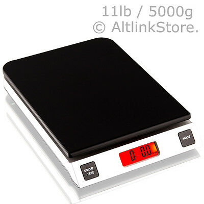 Saga Digital Kitchen Scale 11lb 5kg5000g X 1g Oz Diet Food Weight Postal Wsgr