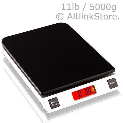 Saga Digital Kitchen Scale 11lb 5kg5000g X 1g Oz Diet Food Weight Postal Wsgr