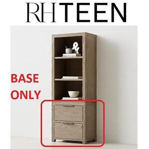 NEW RHTEEN MEDIA TOWER BASE - 123277245 - AGED DRIFTWOOD CABINET FURNITURE