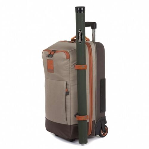 NEW FISHPOND TETON ROLLING CARRY-ON FISHING LUGGAGE BAG - 45L CAPACITY