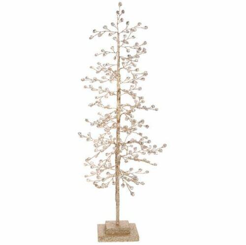 "23"" GLITTERED TREE with Jewels CHRISTMAS Decor 3717590 NEW Raz Imports BLING!"