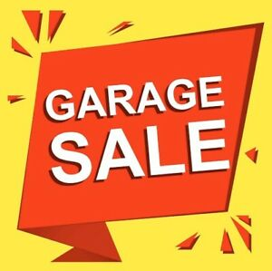 House hold good sold in garage sale Sunday 19/01/20