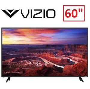 """REFURB VIZIO 60"""" 4K ULTRA HD TV - 107751104 - LED TELEVISION 2160P - HOME THEATER DISPLAY WITH HDR"""