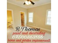For all your paint and decorating requirments