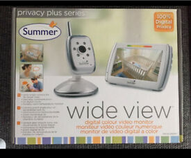 Summer Wide View Digital Video Monitor